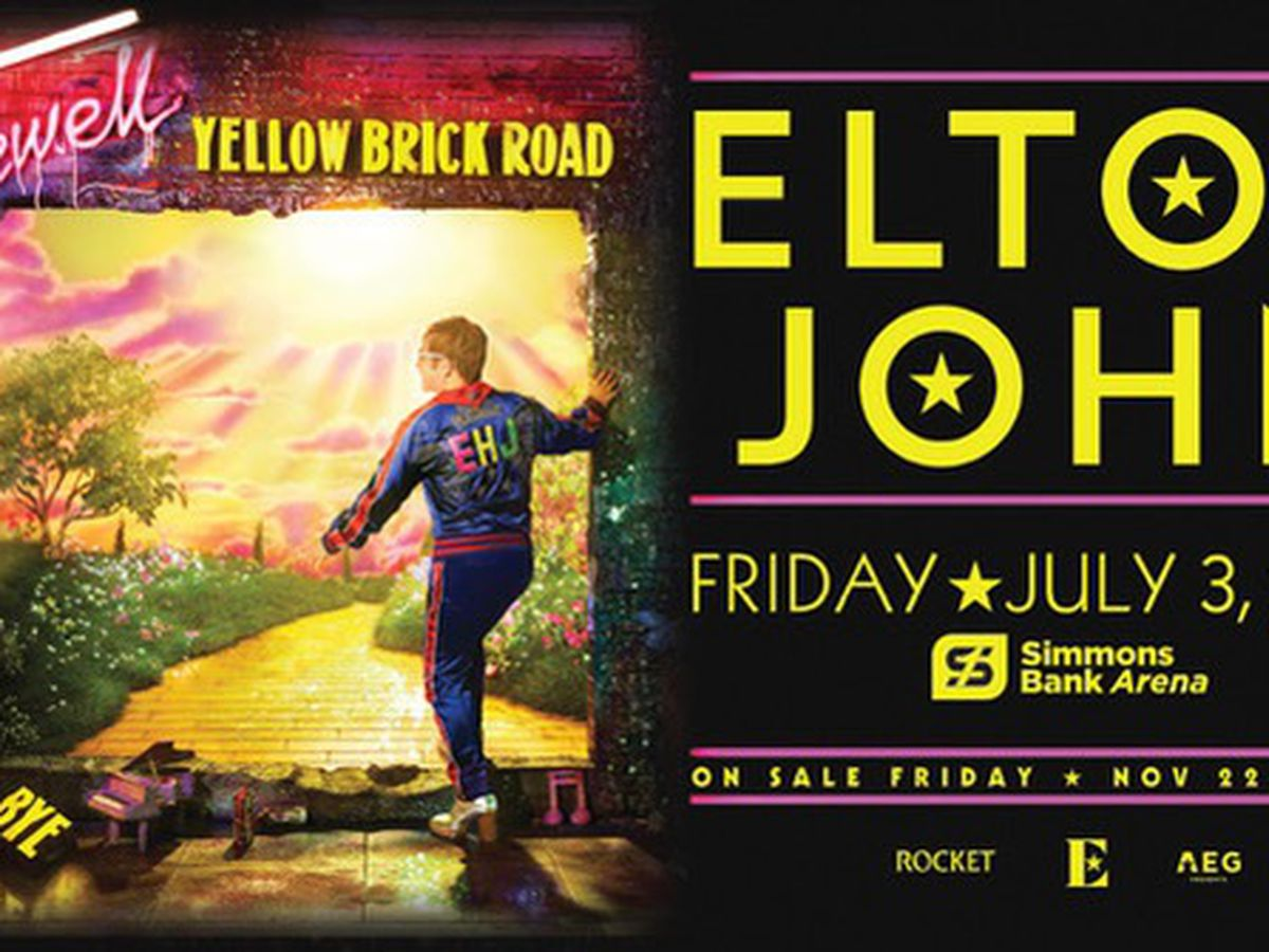Elton John farewell tour coming to Arkansas