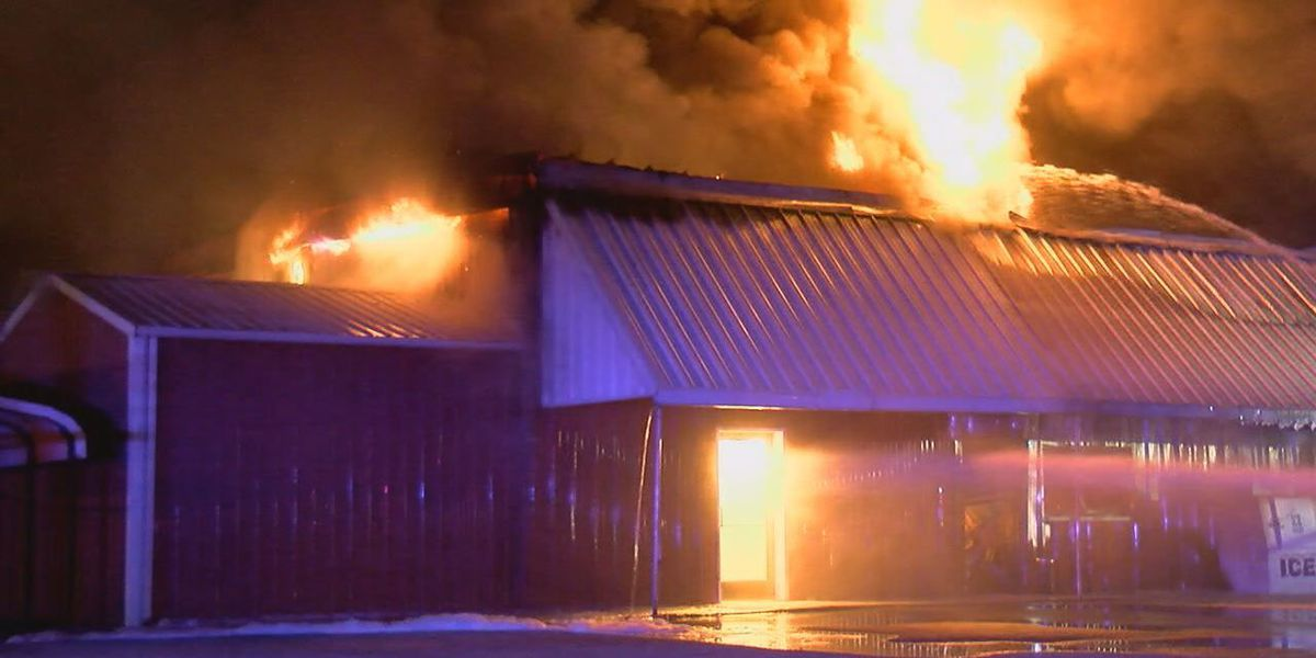 Lumber company destroyed by overnight fire