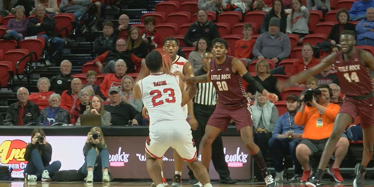 A-State men drop nail-biter to Little Rock 81-78