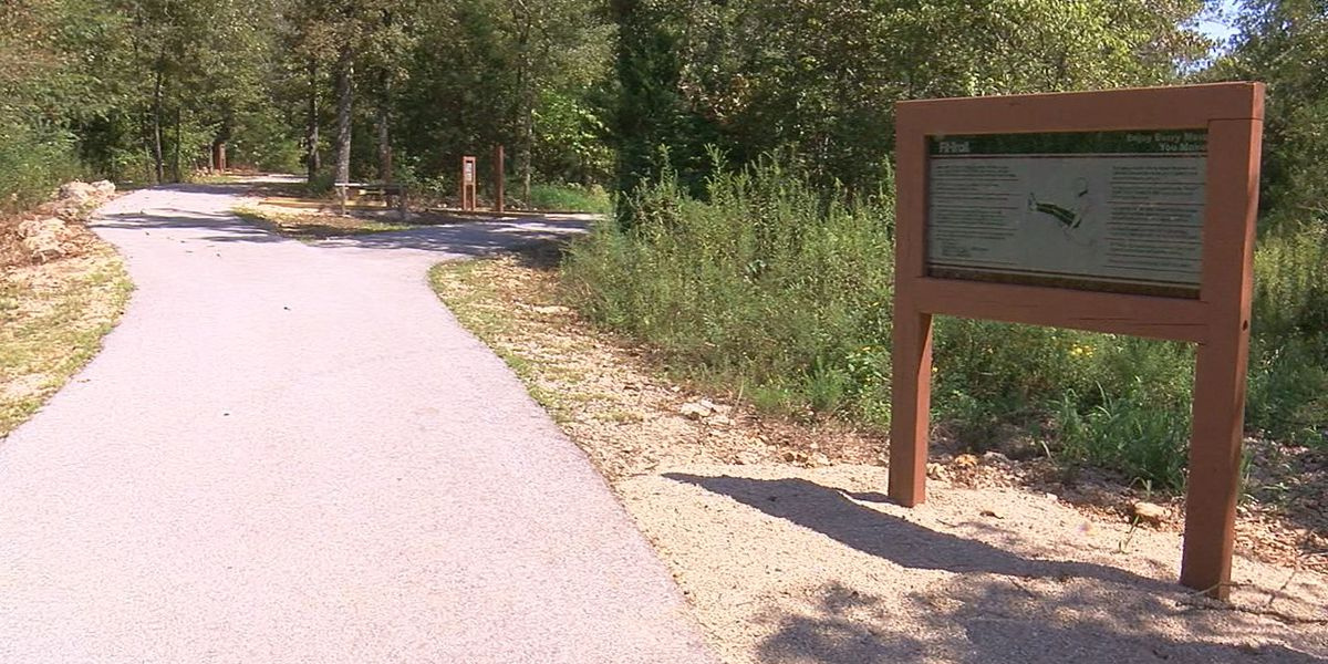 Exercise equipment added to popular nature trail