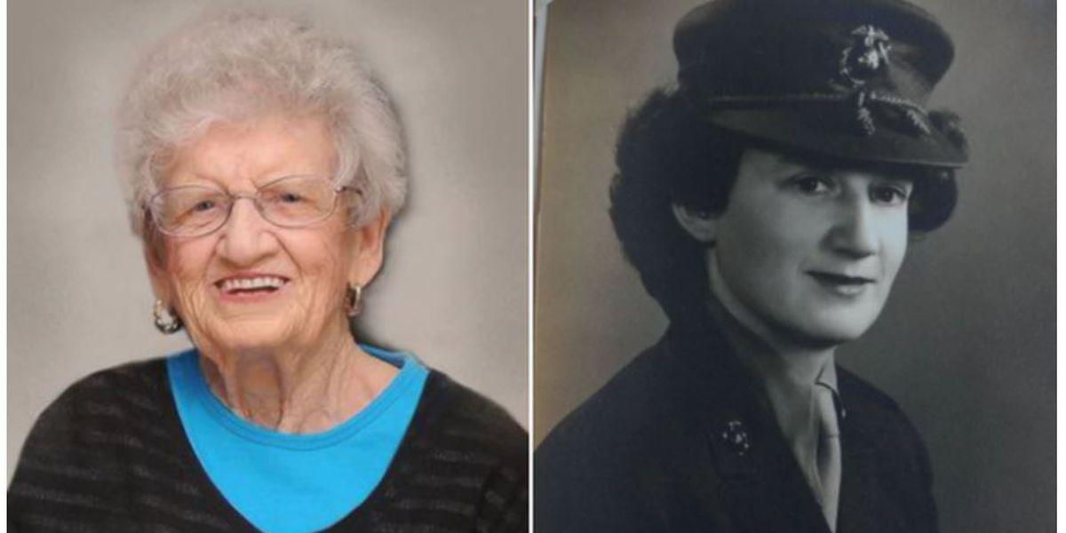 Oldest living Marine celebrates her 107th birthday