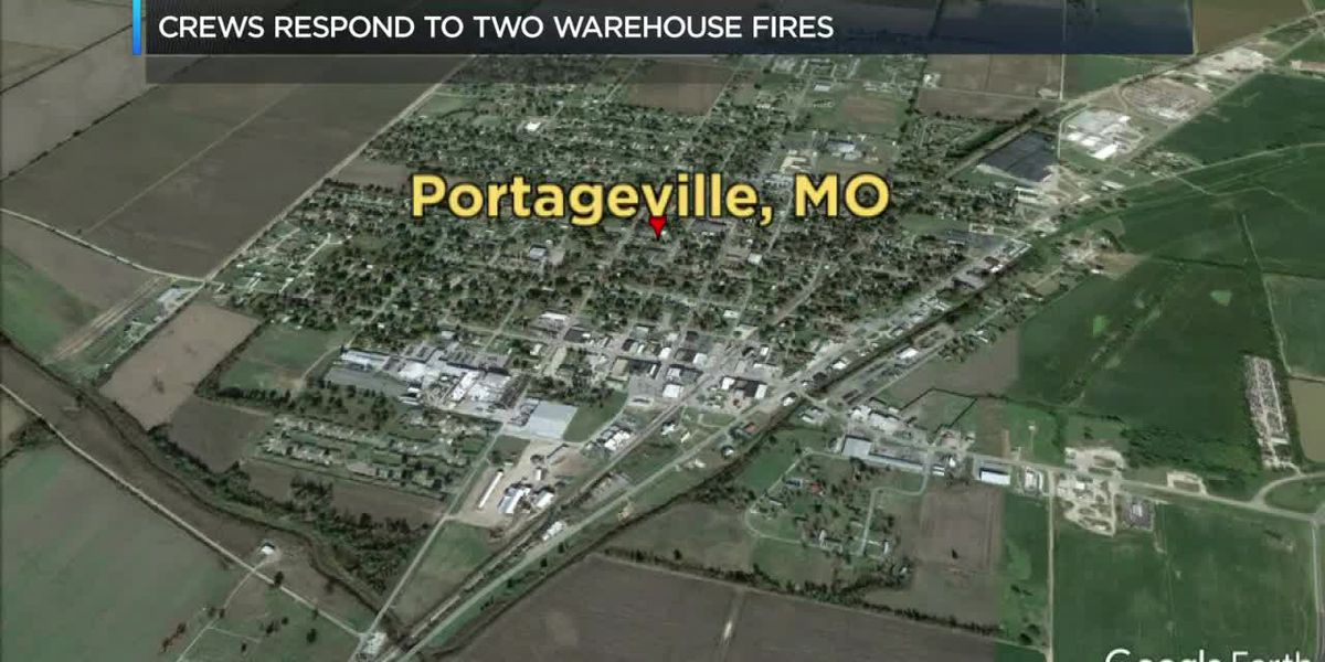 2 fires in Portageville, Mo
