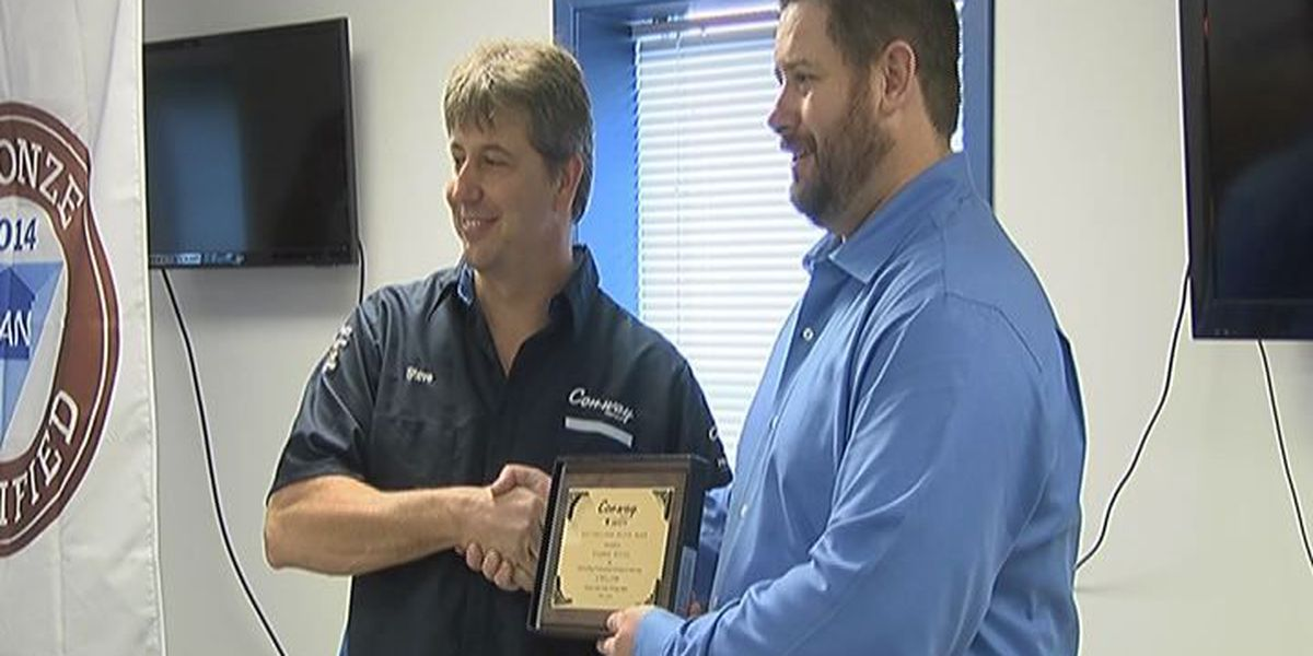 Region 8 truck driver awarded for safety
