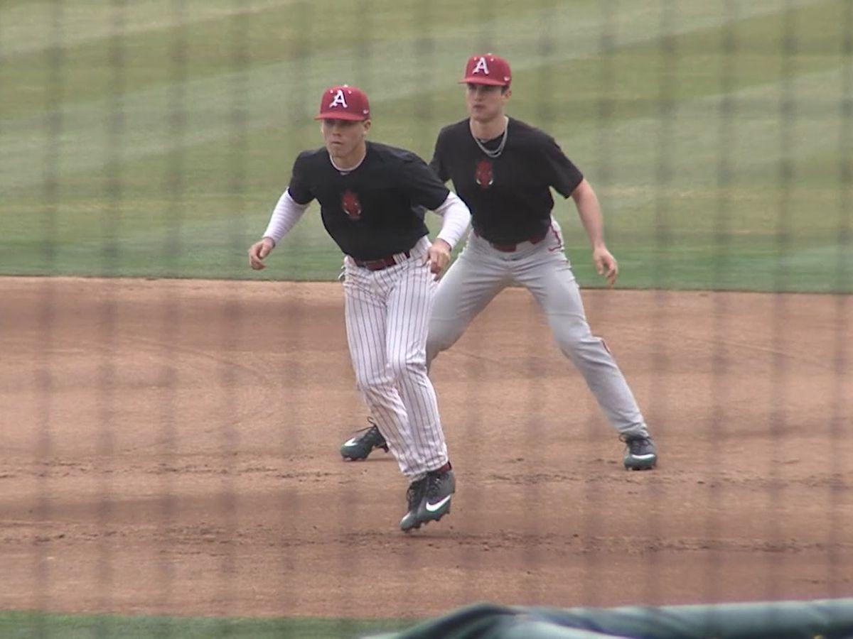 Arkansas baseball inching closer to Opening Day