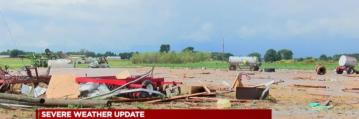 Randolph County begins picking up pieces after EF-2 damage
