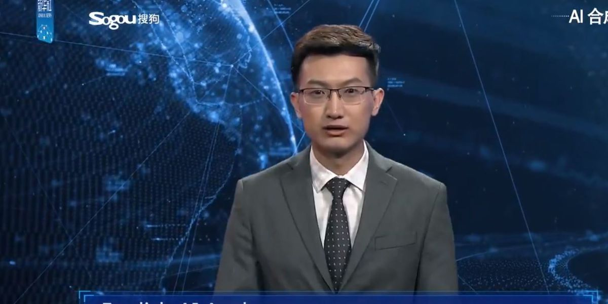 Real fake news: First artificial intelligence anchor makes debut