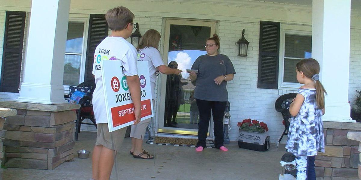 Team Jonesboro prepares for early voting Tuesday