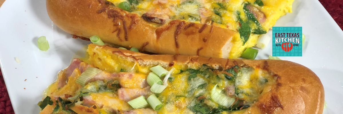 East Texas Kitchen: Breakfast And Dinner Bread Boat