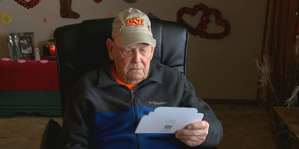 Oklahoma WWII veteran gets 70,000 cards after story goes viral