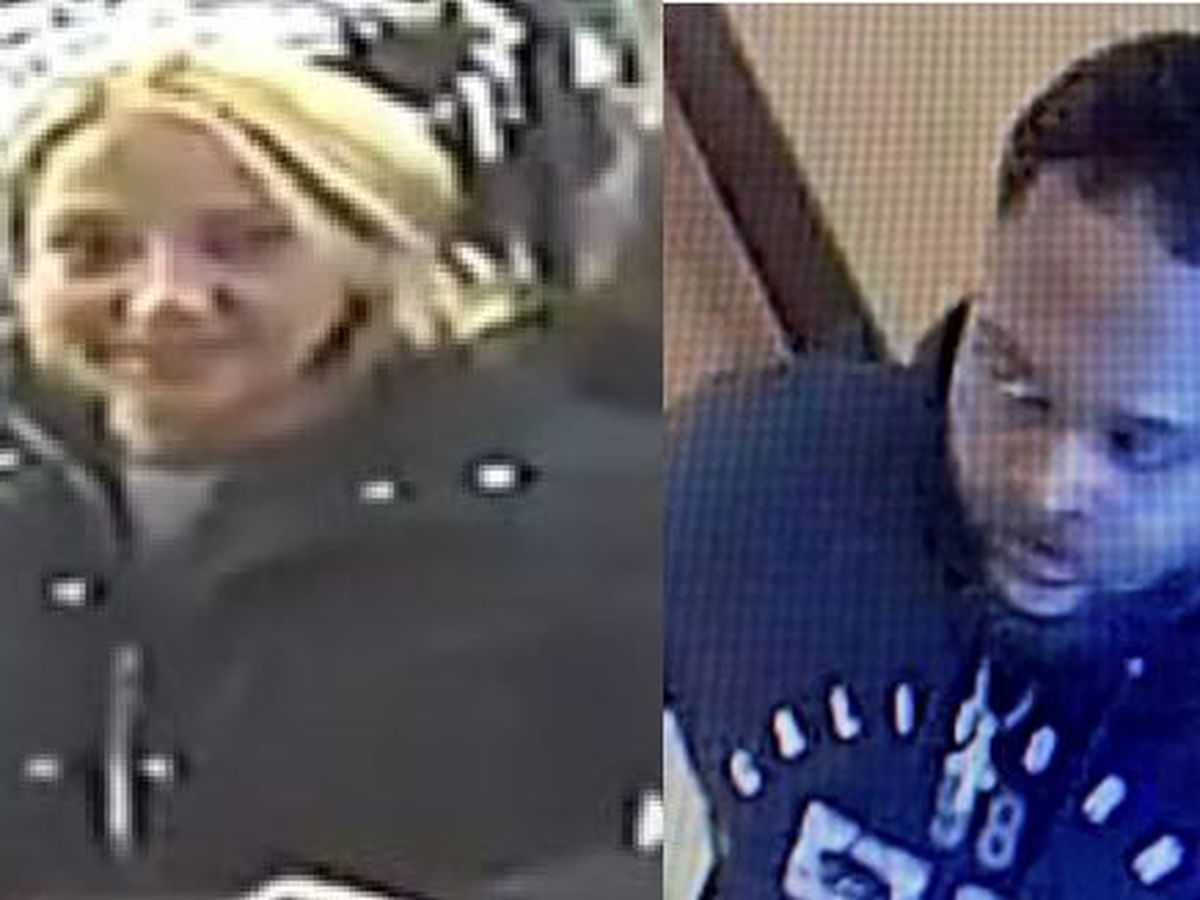 JPD searching for counterfeiting couple