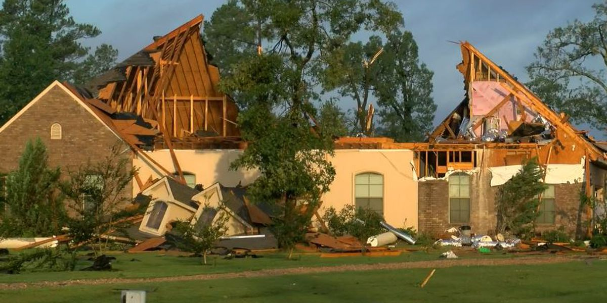 Tornadoes in Texas, flooding in Northeast, 200K without power