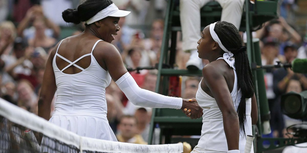 Gauff, just 15, shocks 5-time champ Venus, 39, at Wimbledon