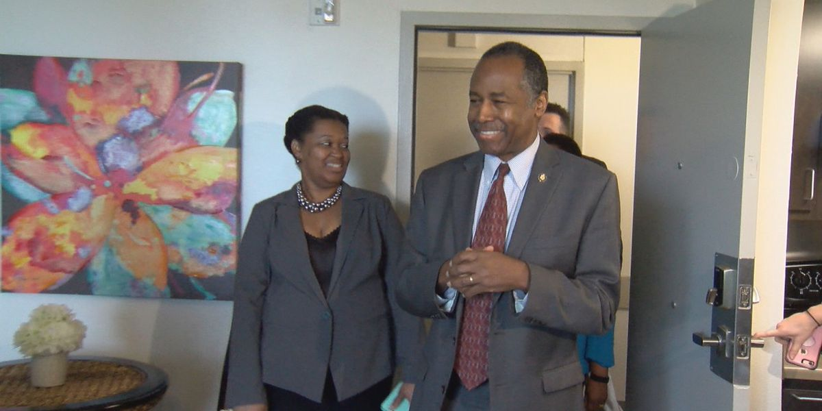 Dr. Ben Carson talks opportunity zones, rental housing standards in Little Rock visit