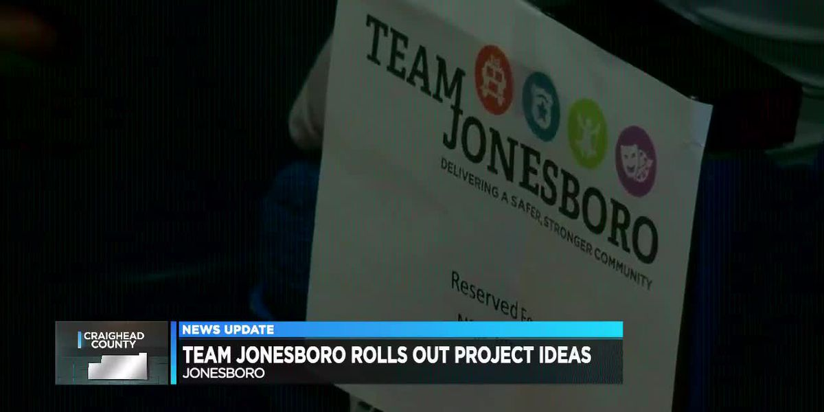Team Jonesboro rolls out more than a dozen project ideas