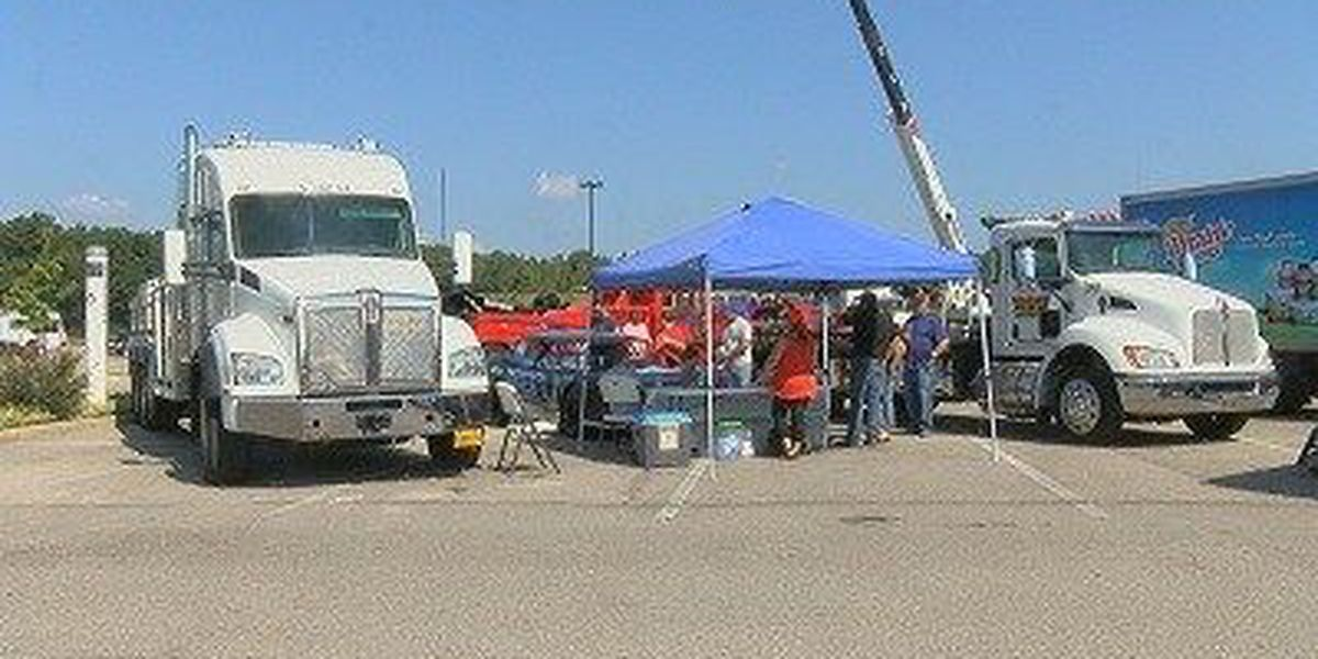 Students host 'Touch a Truck' fundraiser