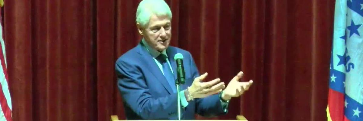 UNCUT: Bill Clinton addresses students at A-State - 2/11/19