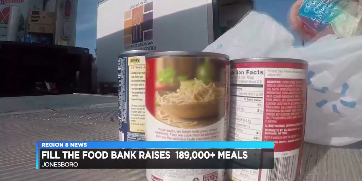 Food Bank drive collects enough for 180K meals