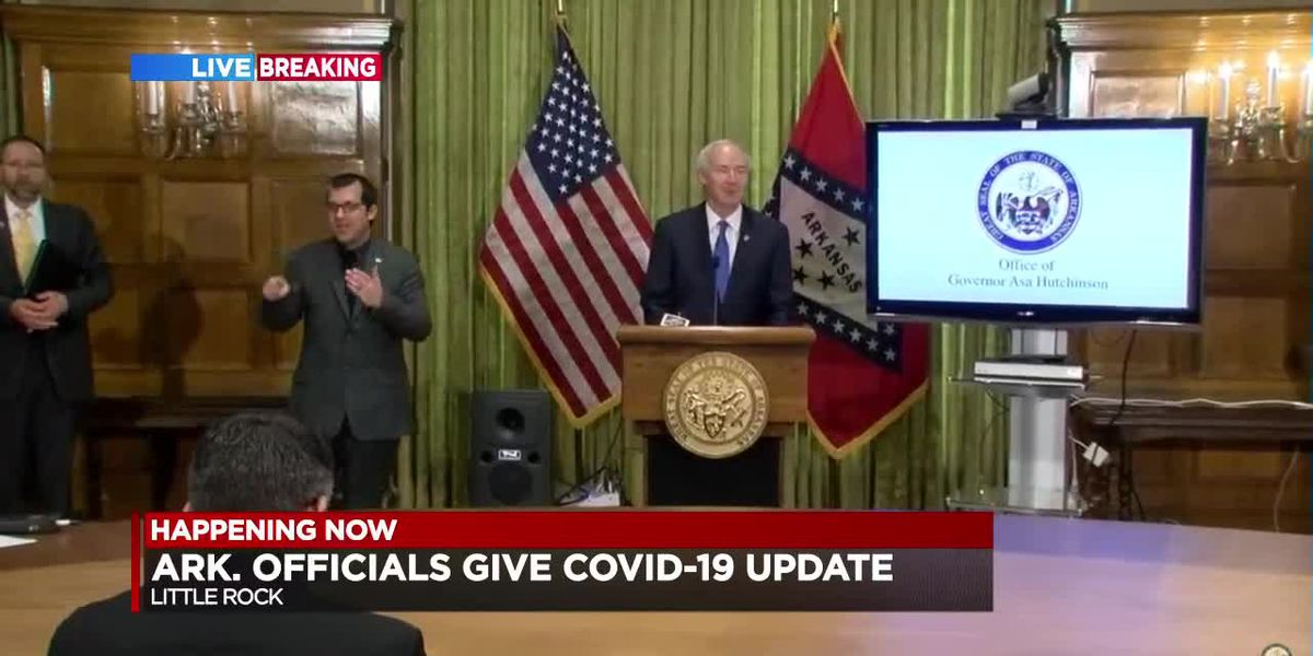 FULL BRIEFING: Gov. Hutchinson's daily COVID-19 update for Arkansas - 3/31