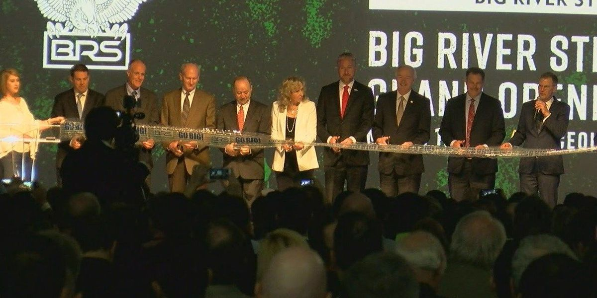 Big River Steel holds grand opening