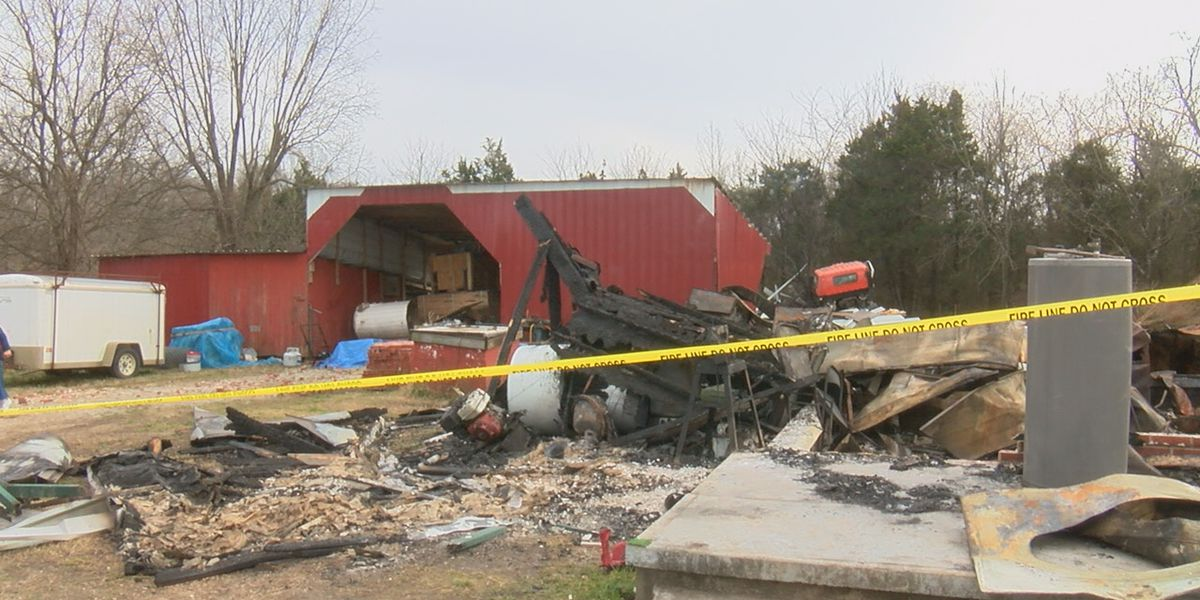 'God was watching over us:' Family recovering after fire destroys home