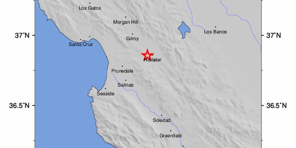Magnitude 4.5 earthquake rattles southern California