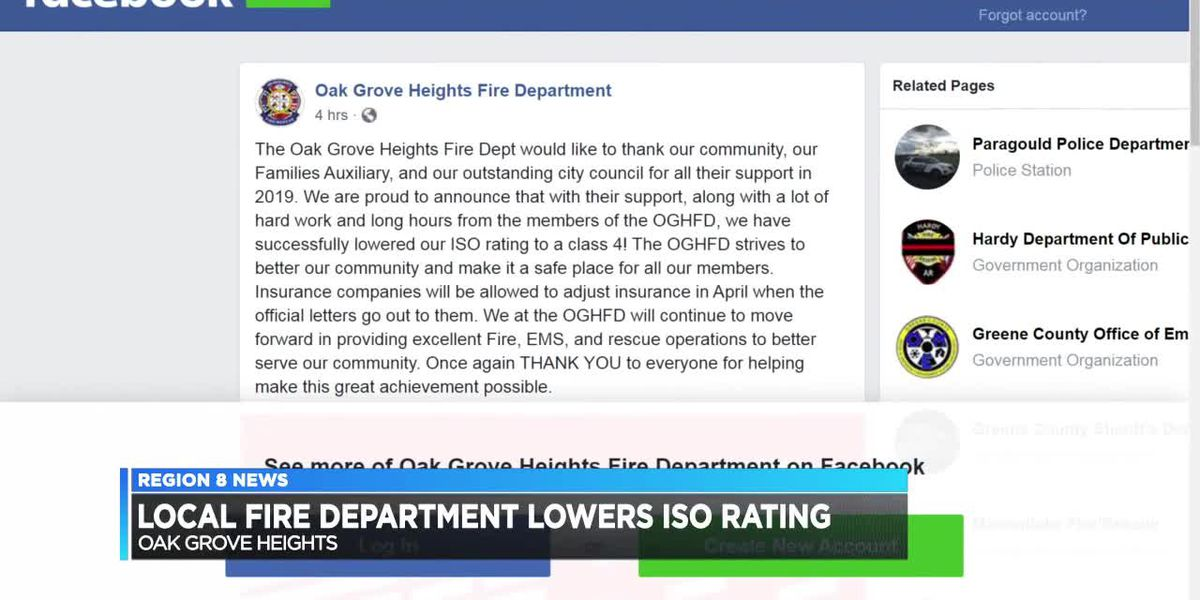 Oak Grove Heights Fire Dept. lowers ISO rating