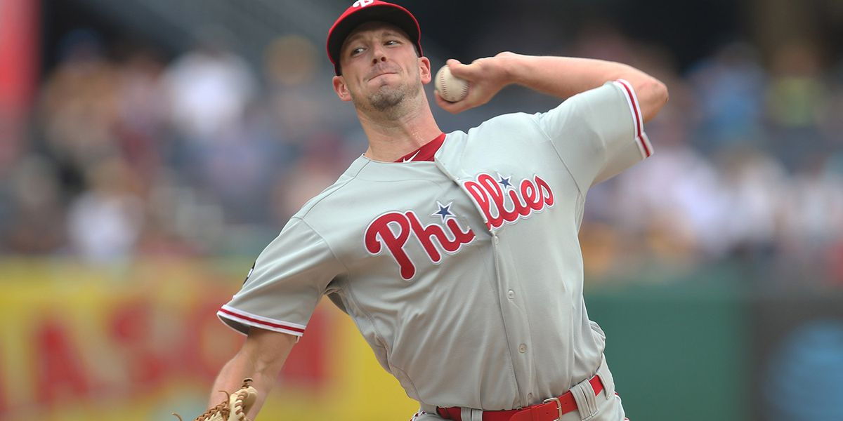 Former Hog Drew Smyly tosses 7 shutout innings Tuesday in Phillies victory