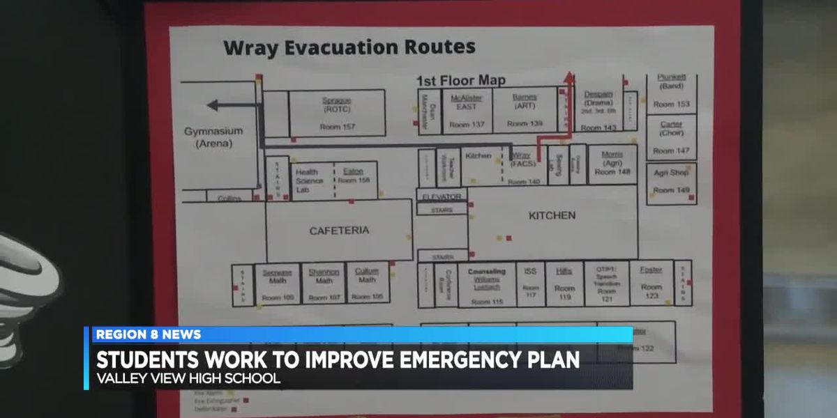 Students improve emergency response and evacuation plan for school