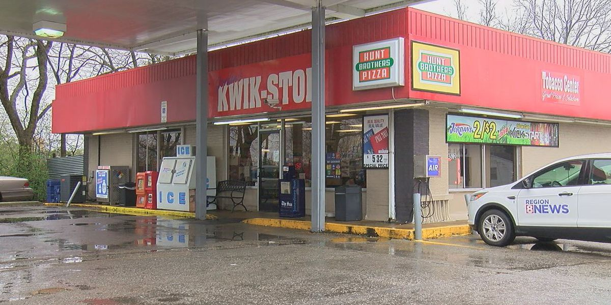 Gas station helps keep elderly customers healthy at the pumps