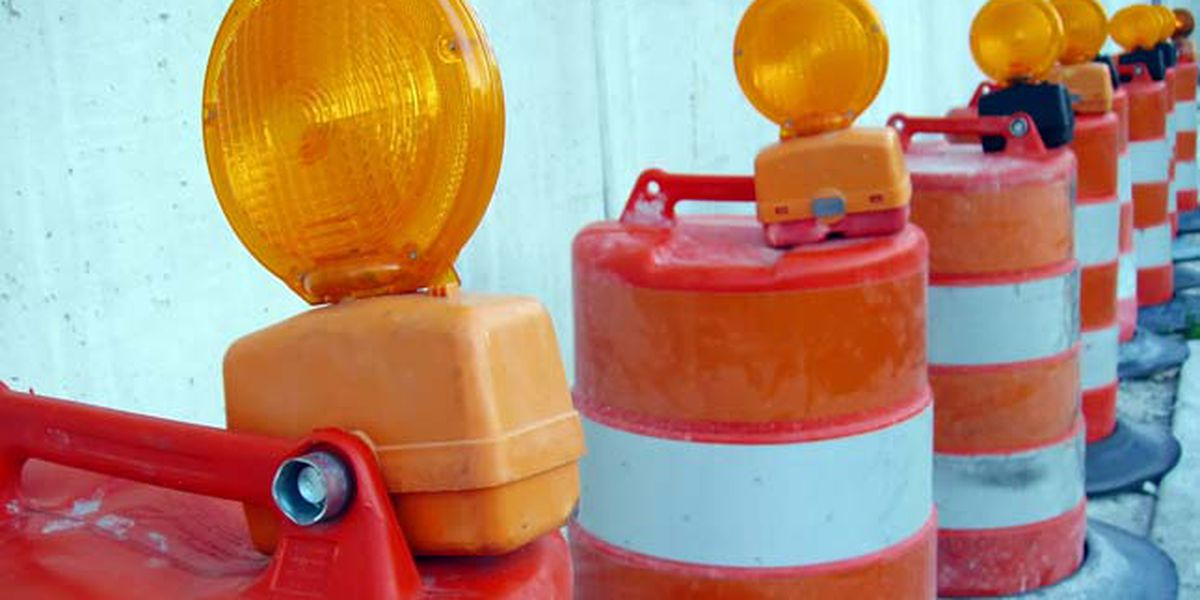 Road work to require closures on Interstates 40 and 55