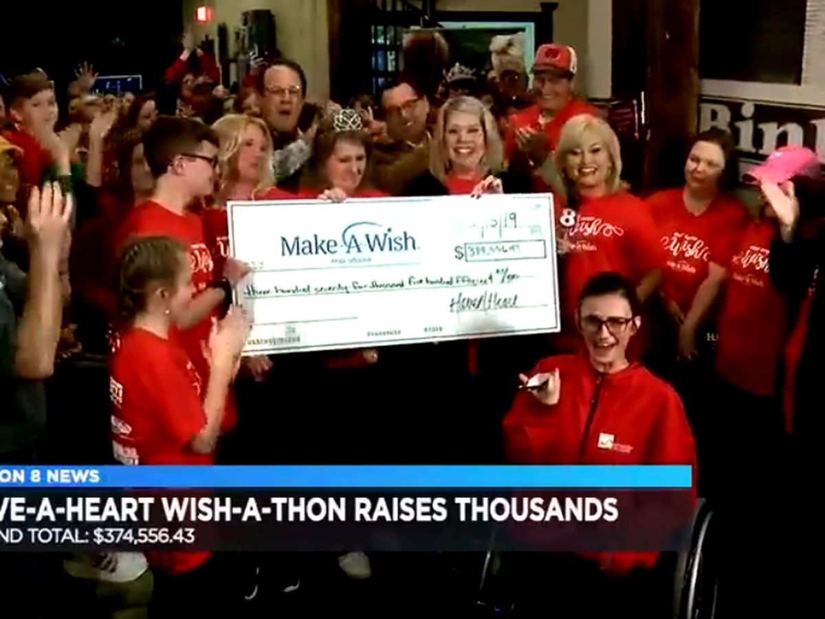 Have a Heart Wish a Thon raises $374,556