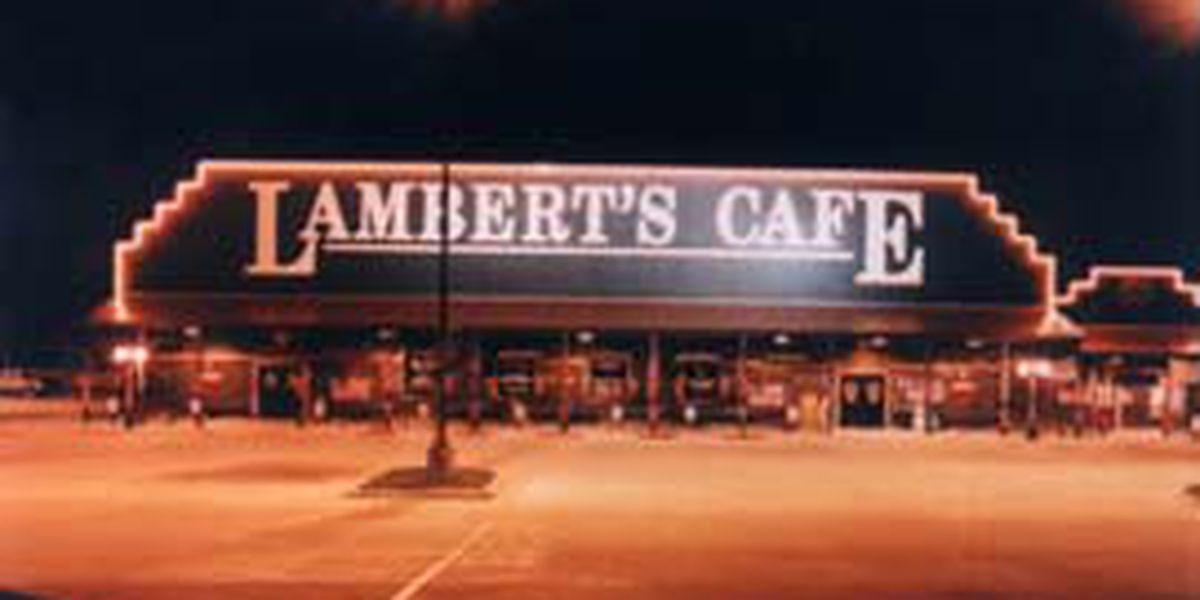 No, Lambert's Cafe isn't closing