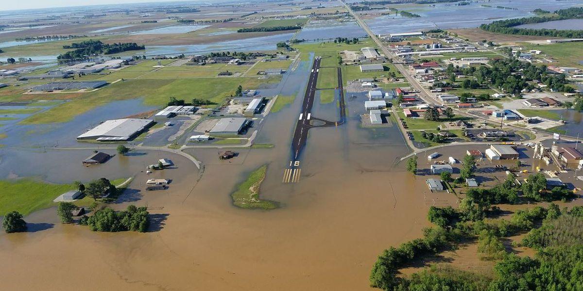 PHOTO GALLERY: Pocahontas flooding aerials