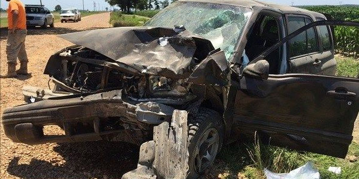 Lunchtime crash sends one to hospital