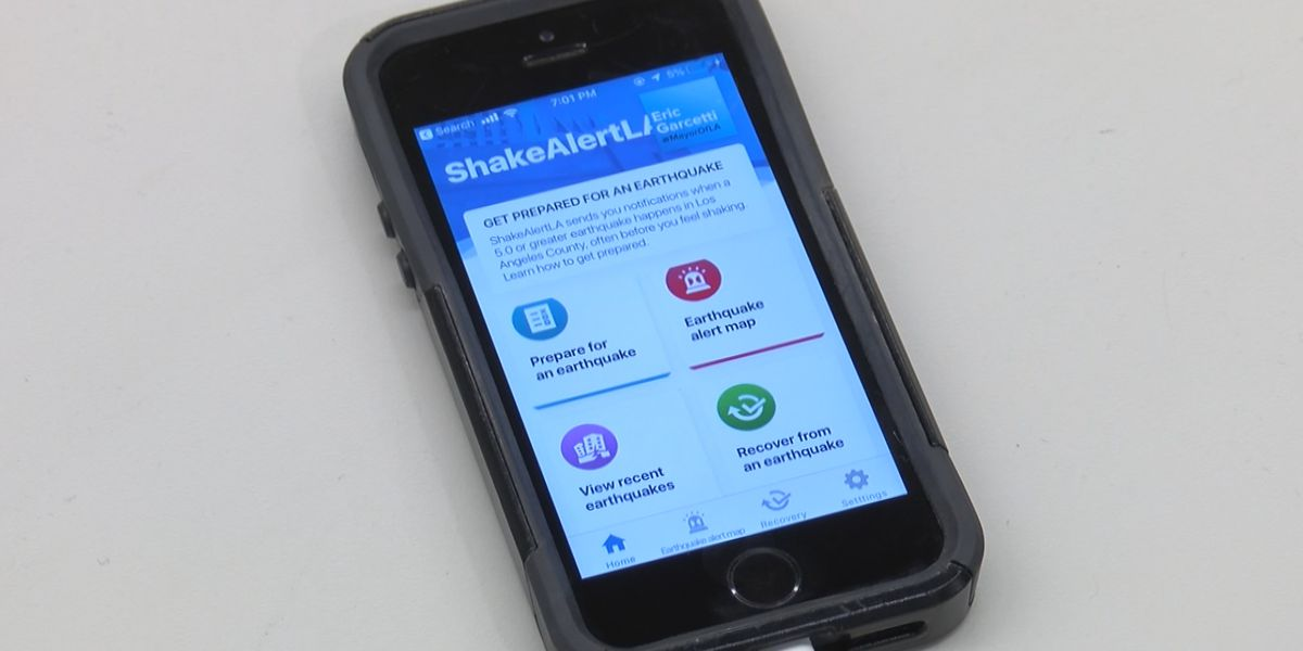 Could the Heartland use an earthquake early warning app?