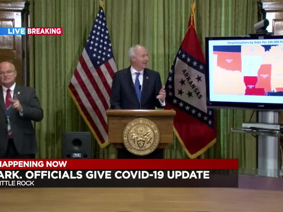 FULL BRIEFING: Gov. Hutchinson's daily COVID-19 update 4/9