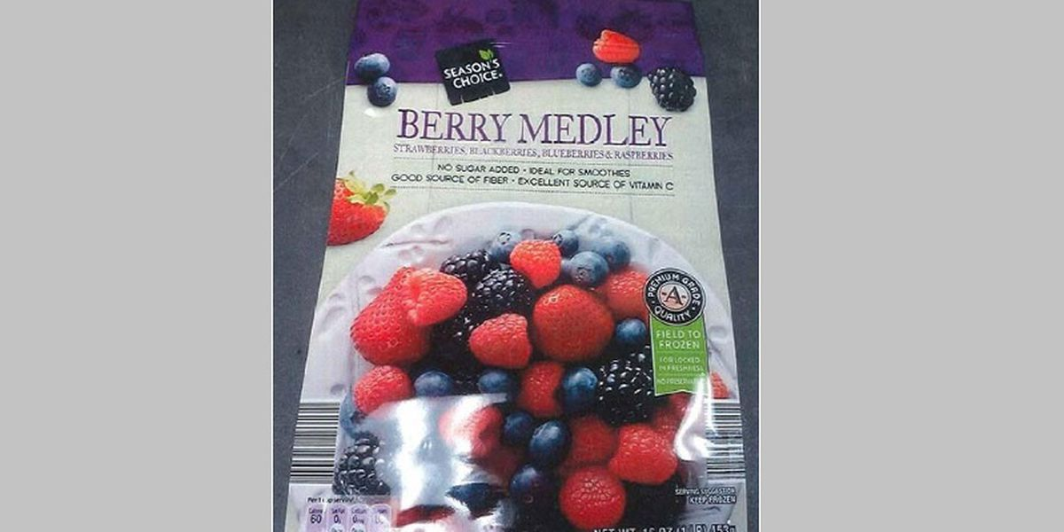 Recall Alert: Frozen berries possibly contaminated with Hepatitis A