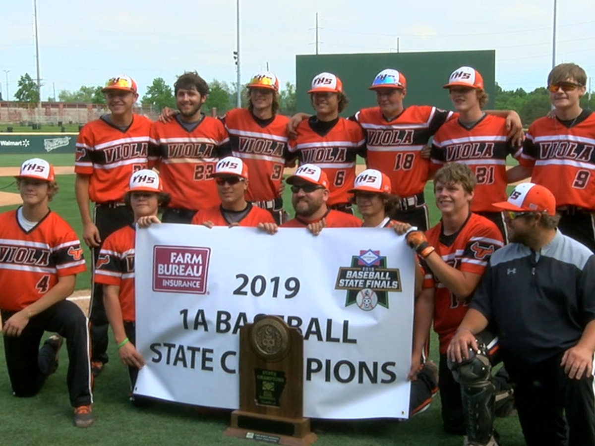 Viola rallies to beat Taylor to win 1A Baseball State Championship