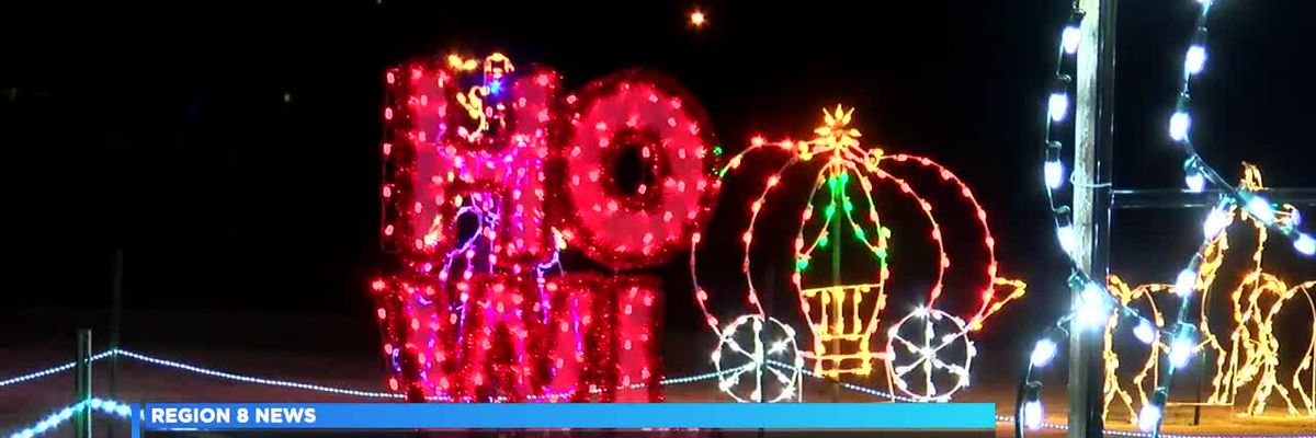 'Christmas at the Park' opens, new displays and over 400,000 lights featured