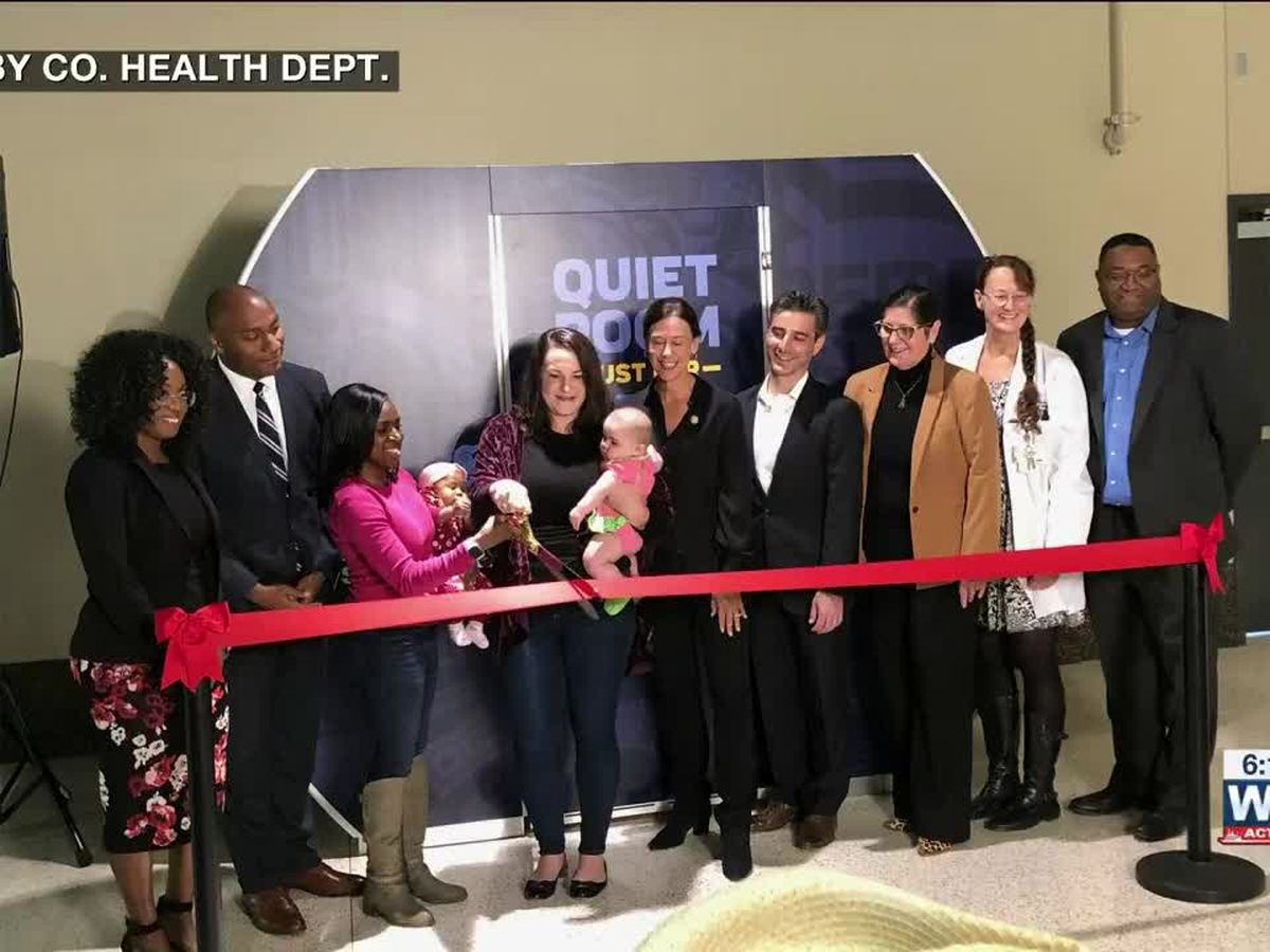 Mamava Lactation Pod opens at FedExForum