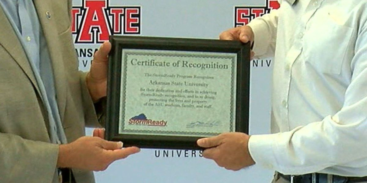 A-State is 'Storm Ready'