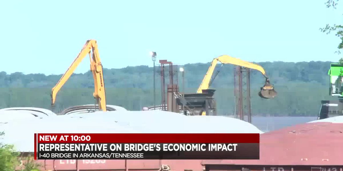 """""""This is a significant problem for us in the region"""" Rep. Rick Crawford on I-40 Bridge"""