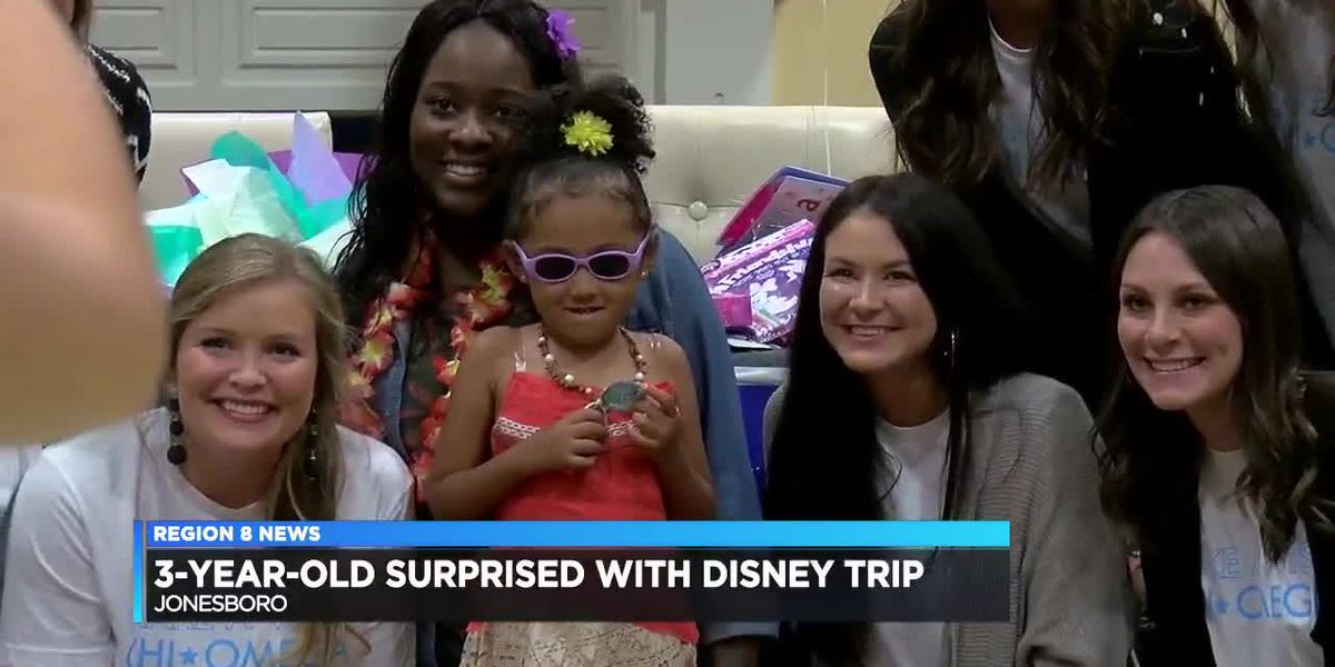 Sorority sponsors 3-year-old's wish to meet a Disney princess