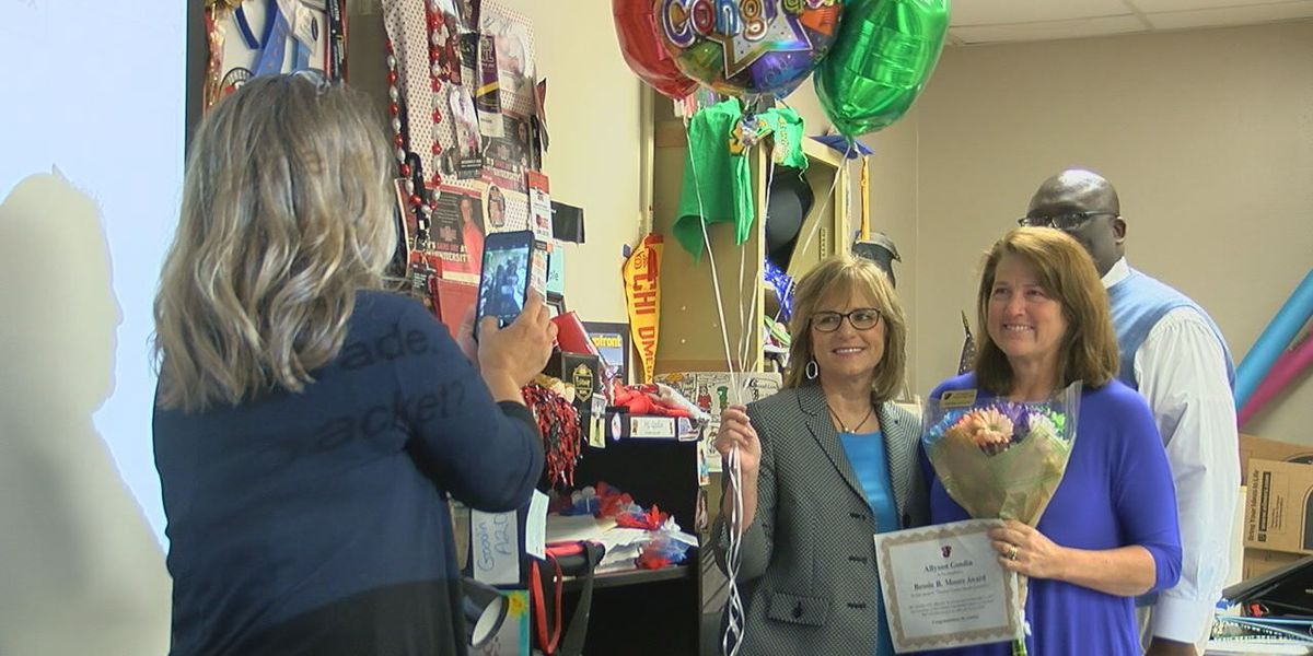 JHS teacher awarded for going above and beyond