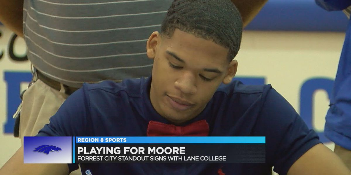 Forrest City's Moore signs with Lane College