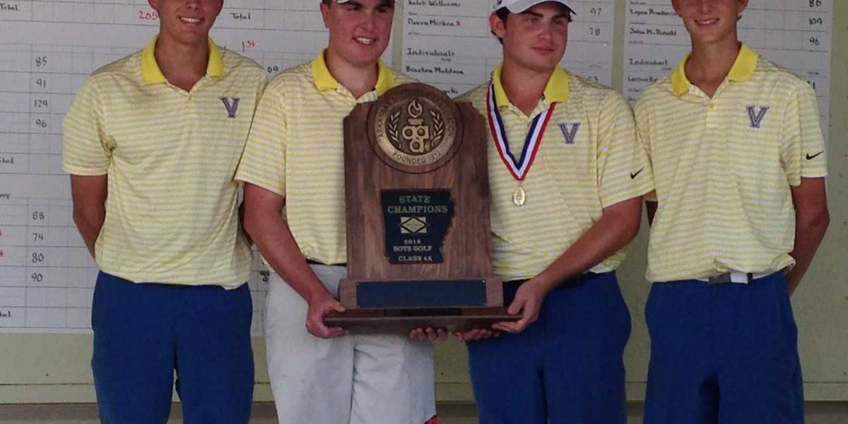 Valley View wins 4A Boys Golf State Championship