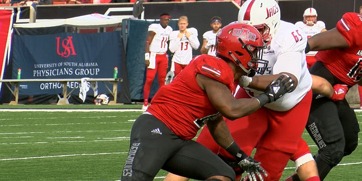 Arkansas State DE Ronheen Bingham named a Phil Steele All-American
