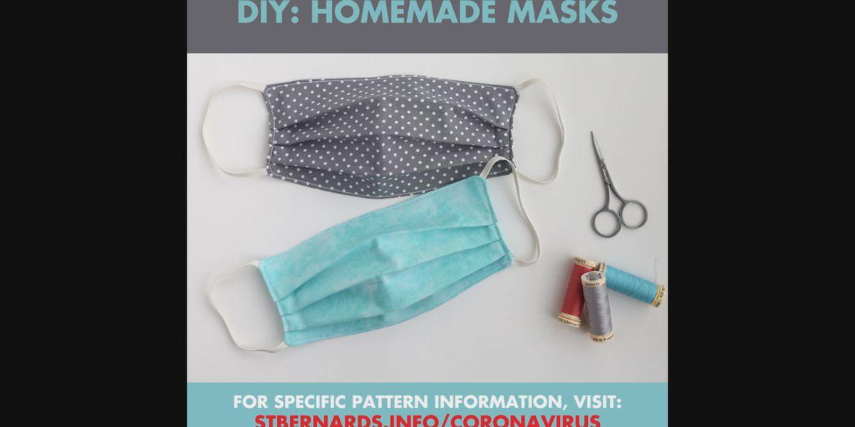St. Bernards needs homemade masks