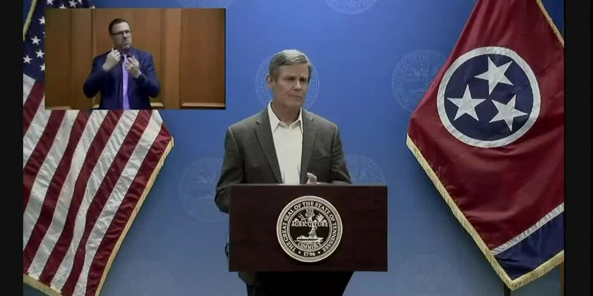 Gov. Bill Lee announces end to Tennessee's safer-at-home order