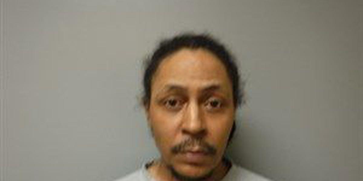 Police find loaded handgun in wanted felon's pants pocket